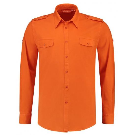 5224d656469 Oranje overhemd met lange mouwen | Oranjediscounter.nl, de oranje ...